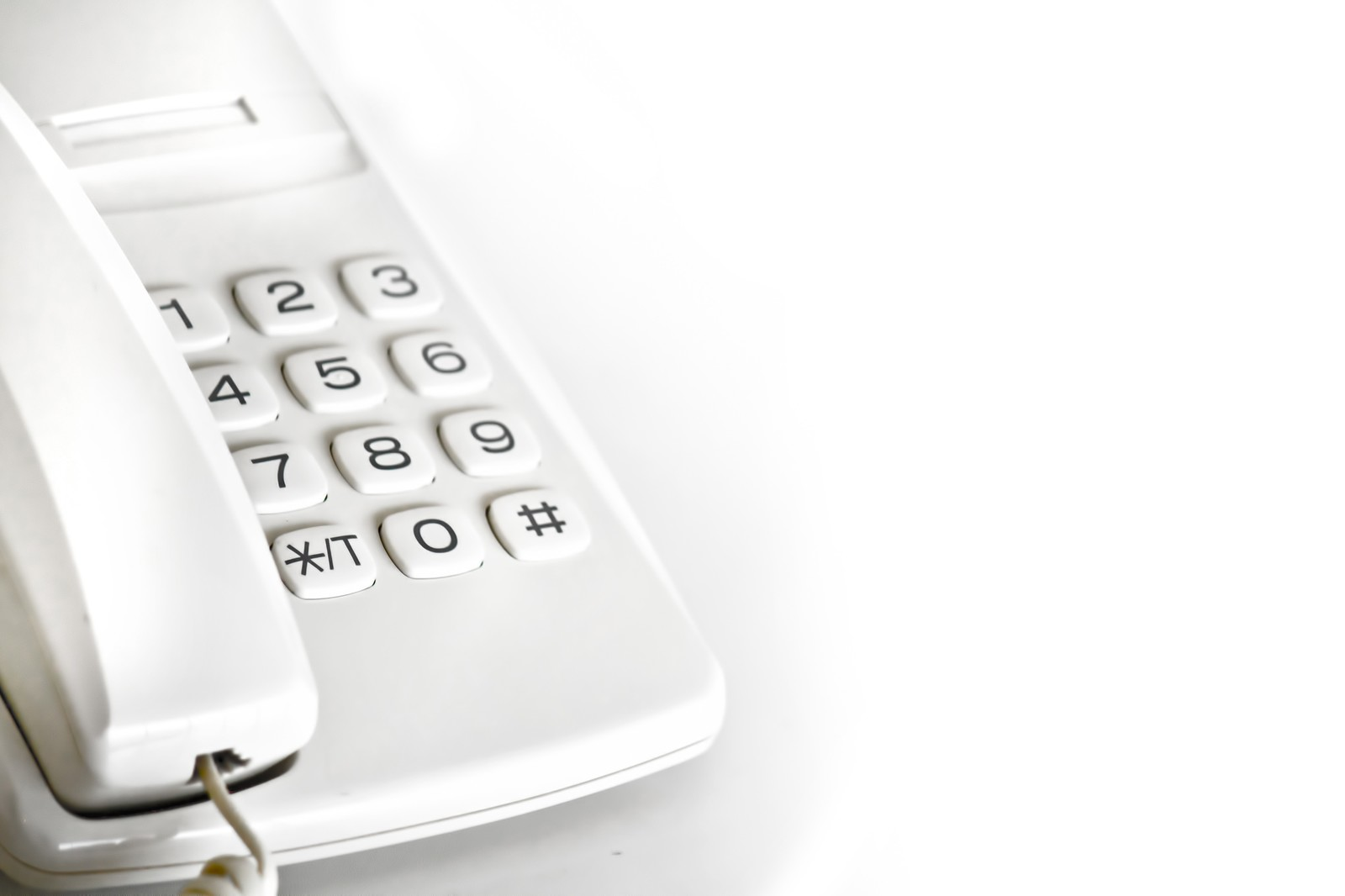 電話対応の練習に使う電話